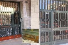 pintar puerta comunidad