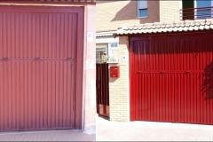 pintar puerta garaje